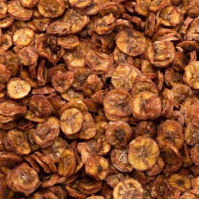 Biologische Bananenschijfjes   Bionoot - SmaakGenot
