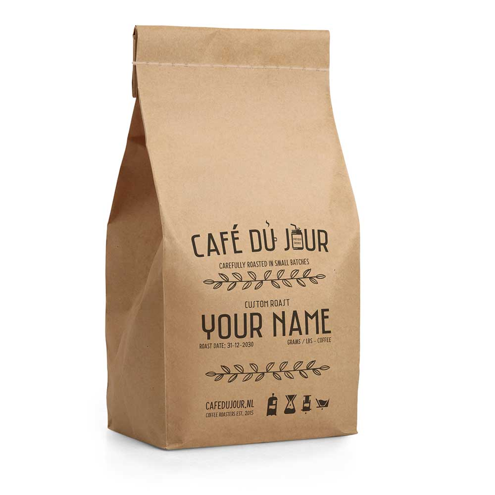 Custom Roast   Café du Jour - SmaakGenot