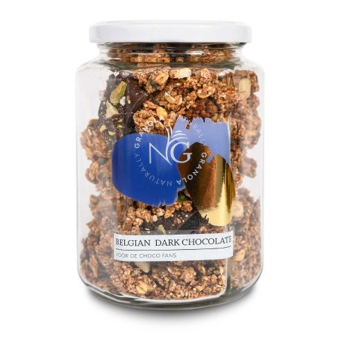 Granola Belgian Dark Chocolate | Naturally Granola - SmaakGenot
