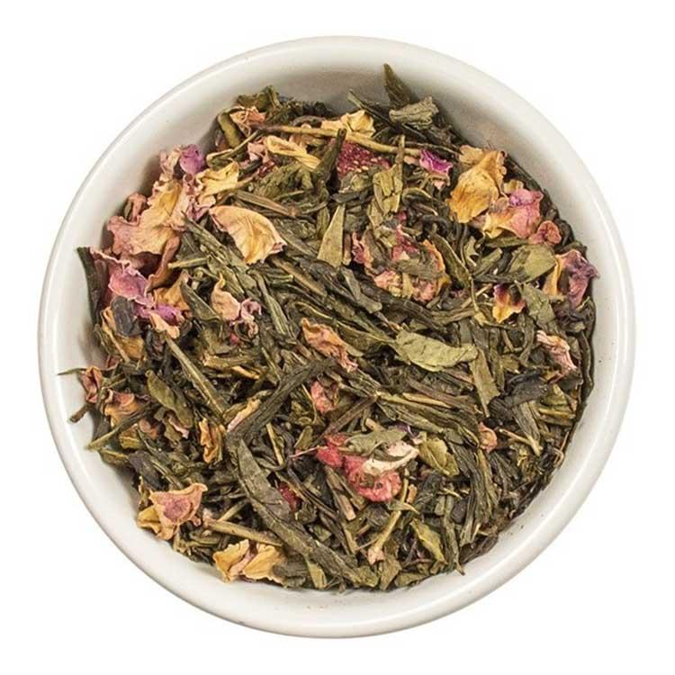 Losse Thee - Aardbei en kers   Tea4you - SmaakGenot