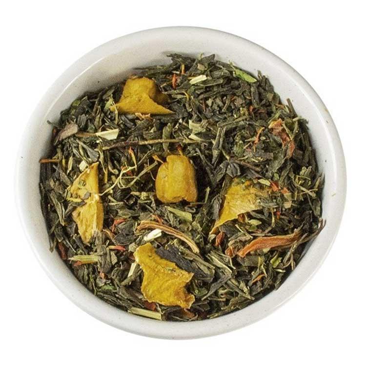 Losse Thee - Mango, Citrus en Hennep   Tea4you - SmaakGenot