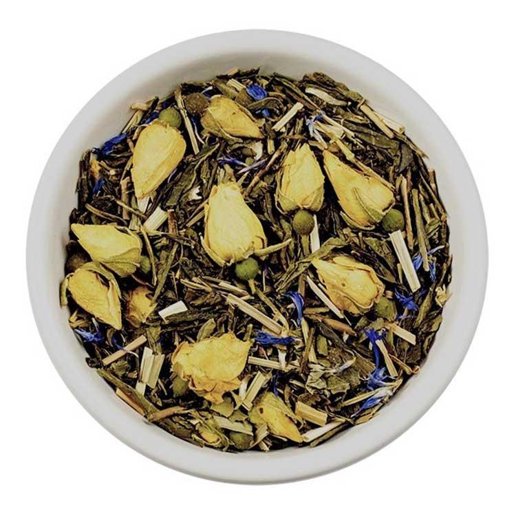 Losse Thee - Rozengeur en Vanillesmaak   Tea4you - SmaakGenot