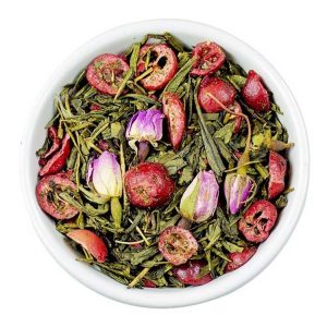 Losse Thee - Sencha Cranberry Roos | Tea4you - SmaakGenot