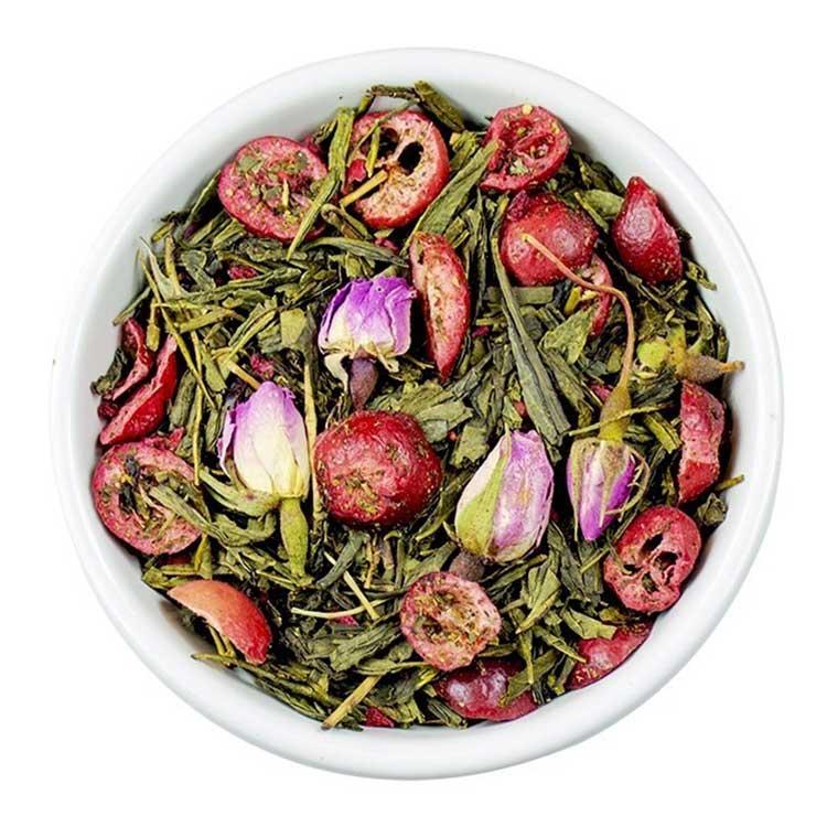 Losse Thee - Sencha Cranberry Roos | Tea4you - SmaakGenot