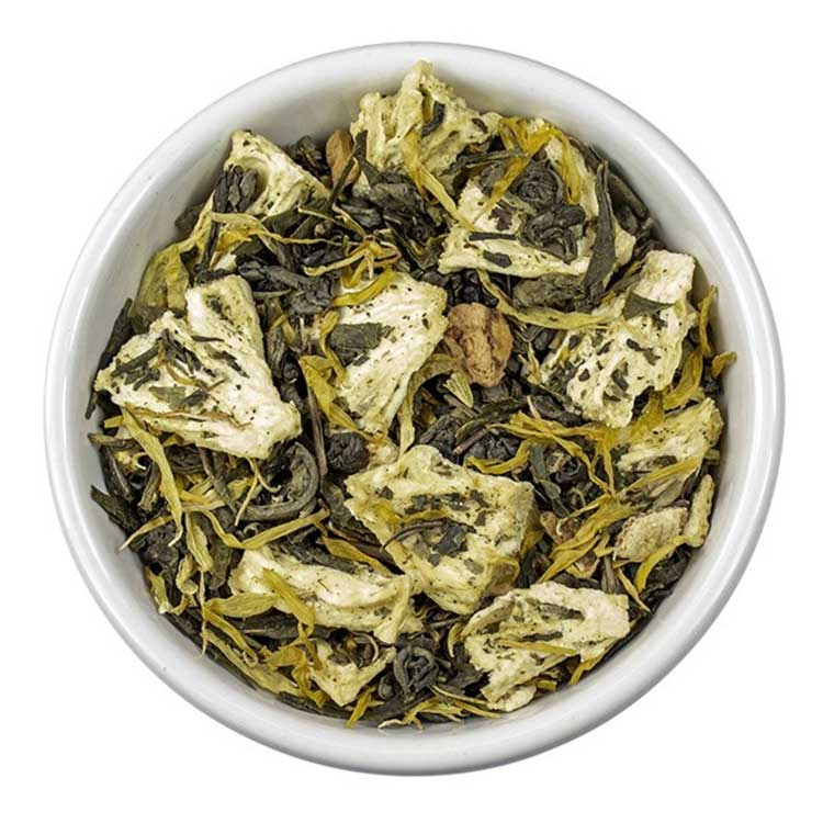 Losse Thee - Sencha Mandarijn   Tea4you - SmaakGenot