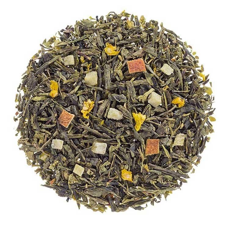 Losse Thee - Sencha Sinaasappel   Tea4you - SmaakGenot