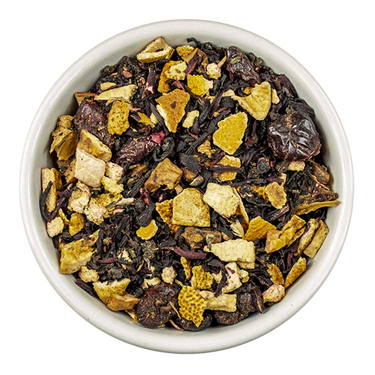 Sinaasappel-cranberry thee   Tea4you - SmaakGenot