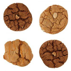 + 4 kleine koeken gratis